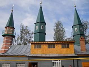 Мечеть в Янгильдино