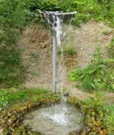 Водопад в Семенчино