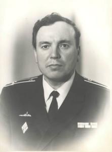 Мосолов Владимир Архипович, капитан 2 ранга