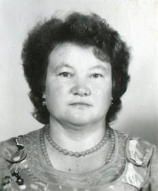 Васильева Алевтина Дмитриевна