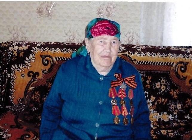 Давыдова (Миронова) Нина Ивановна труженик тыла и ветеран труда