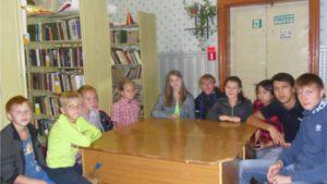 Read more about the article Урок мужества в Семенчинском отделе нестационарного обслуживания читателей