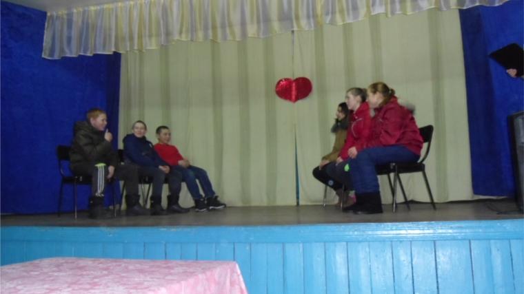 День влюбленных в Семенчинском клубе