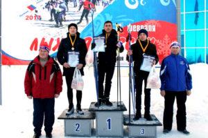 Read more about the article Семенчинцы на массовой лыжной гонке «Лыжня России 2017»