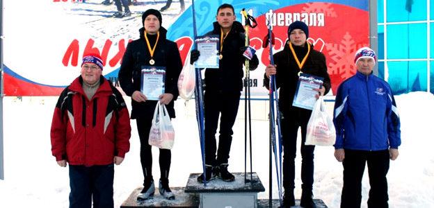 Семенчинцы на массовой лыжной гонке «Лыжня России 2017»