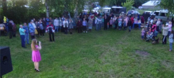 Народное гуляние в д. Семенчино
