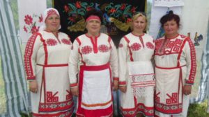 Вокальный ансамбль «Янгильдинка на фестивале-конкурсе «Чувашская национальная кухня»