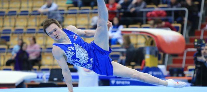 Кирилл Прокопьев – чемпион Универсиады по спортивной гимнастике в вольных упражнениях!
