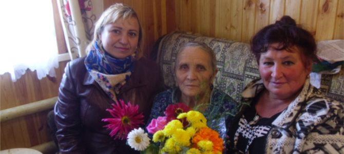 День добра и милосердия в д. Семенчино, ко Дню пожилых