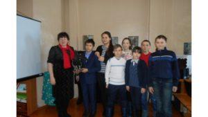 Выставки в Доме-музее Лобачевского посетили учащиеся Янгильдинской школы