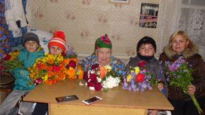 Визит уважения и вежливости ко дню пожилых