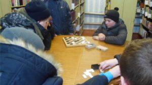 Турнир по шашкам «Зарядка для ума»