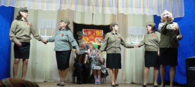 Праздничный концерт по случаю Дня Победы «Многое забудется-такое никогда!»в Семенчинском СК