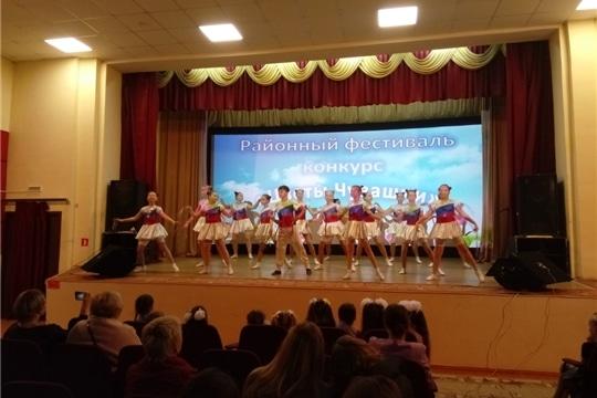 Семенчинцы на районном фестивале- конкурс детского художественного творчества «Цветы Чувашии»