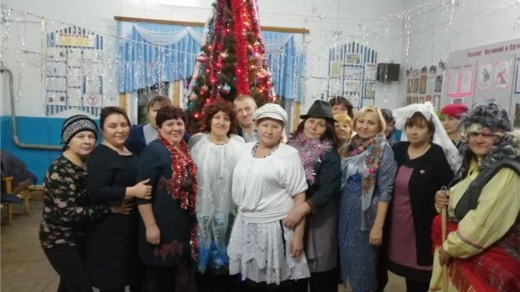 Вечер отдыха «Новогодний переполох» в Семенчинском СК