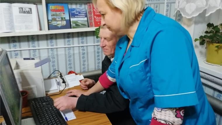 Компьютерная грамотность в Семенчинском отделе нестационарного обслуживания