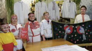 Познавательно- творческий час « Мастерство чувашской вышивки не знает границ»